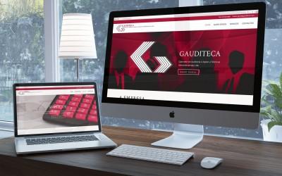 Novo Website da Gauditeca